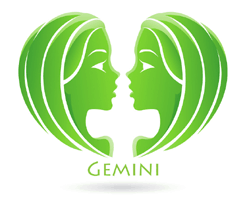Picture of Gemini traits representing the zodiac sign.