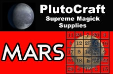 mars candle spell