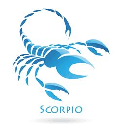 Picture of Scorpio traits representing the zodiac sign.
