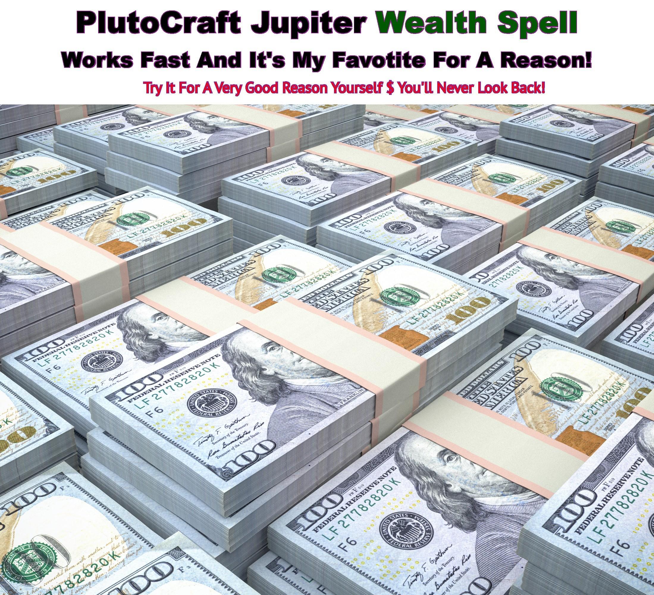 Jupiter Wealth Spell