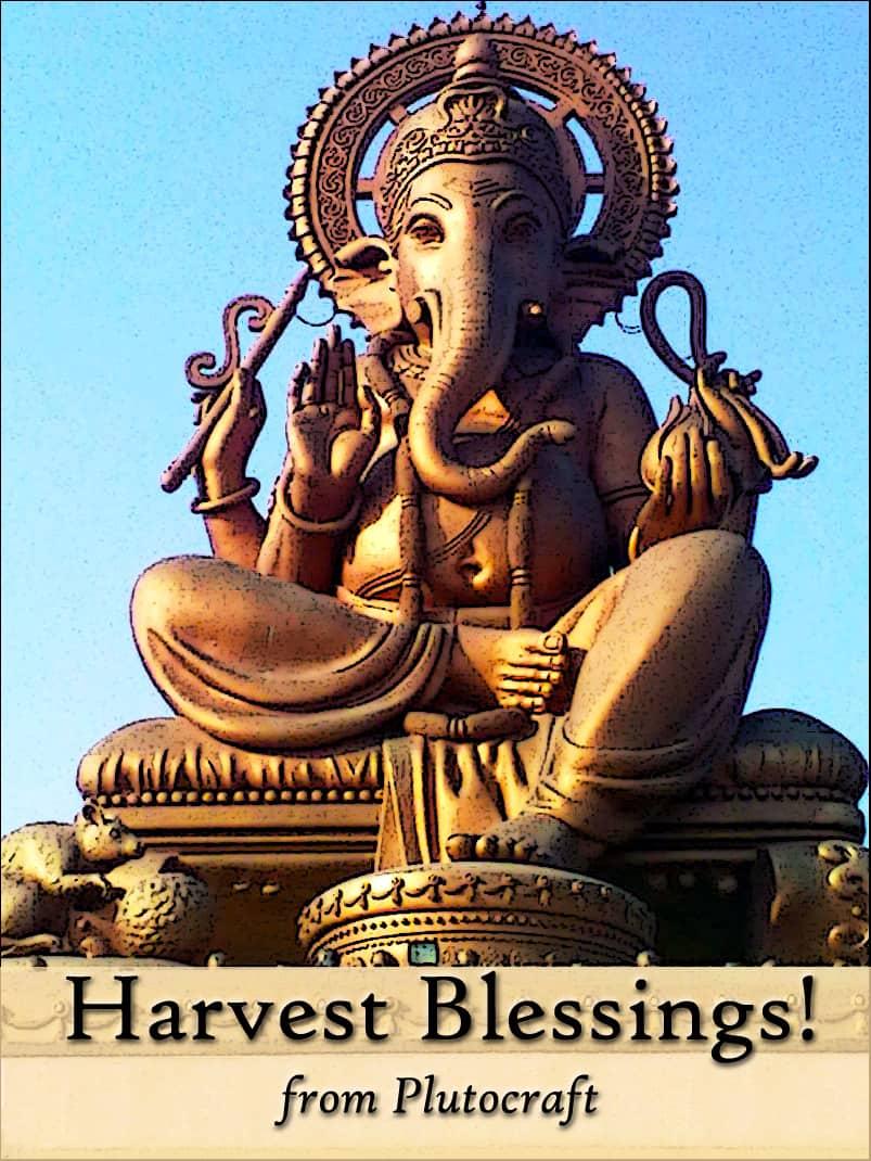 Ganesh Chaturthi Harvest Moon
