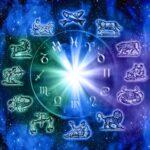 zodiac signs in a wheel