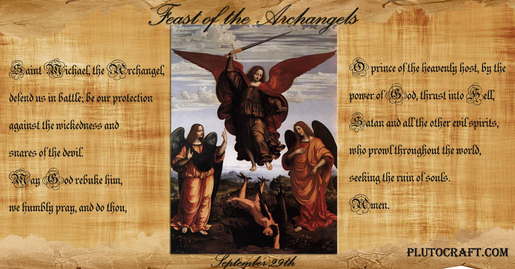 Archangel St Michael Feast Day