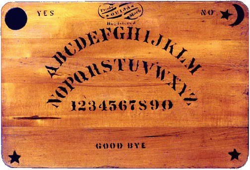 The Woman Behind the Ouija Board