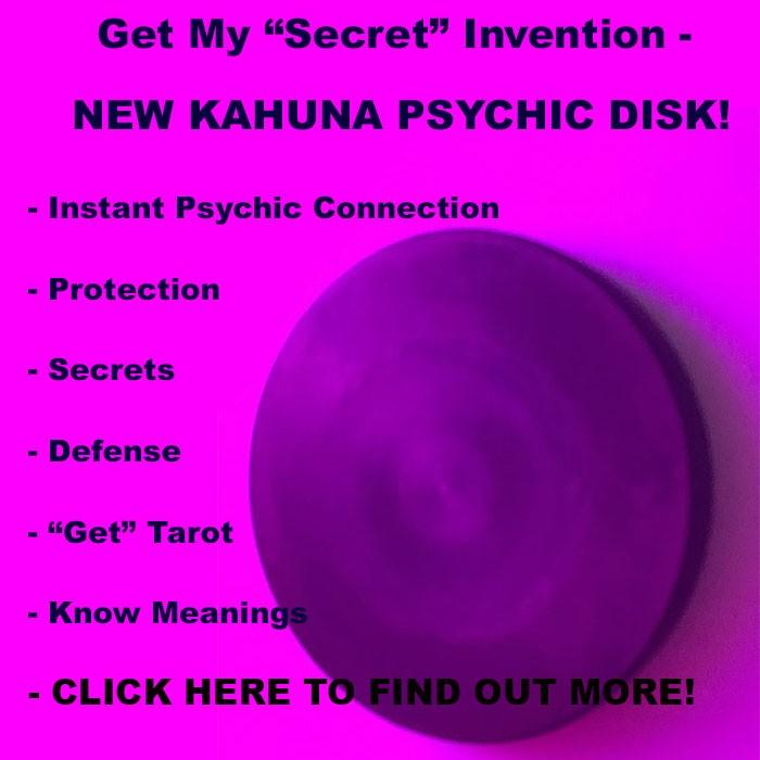 Kahuna Energy Disk Edgar Cayce's Cold Coin