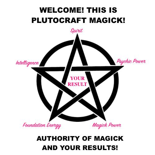 PlutoCraft Magick Pentagram