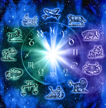 Image showing Astrology and zodiac signs